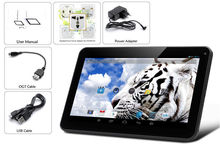 Fashion 10Inch Android Tablets PC 1GB 8G WIFI Bluetooth Dual camera 1GB 8GB 1024 600 lcd