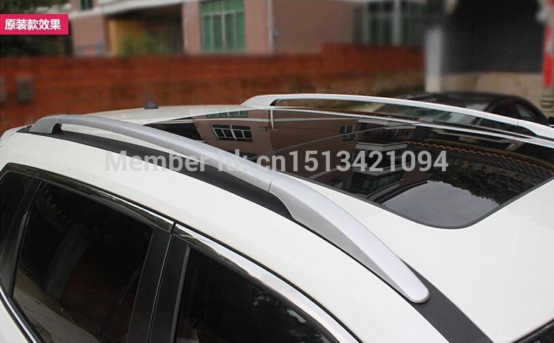 For nissan Rogue 2014 2015 / X-trail 2014 2015 Aluminium Alloy Roof Rack Side Rails Bars / OEM model(China (Mainland))