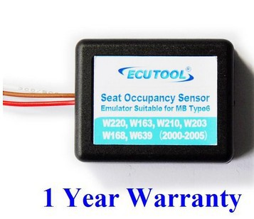 Seat Sensor SRS Emulator for Mercedes Benz Airbag Light W220 W210 W203 W168 W163(China (Mainland))