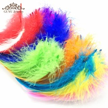 Feathers 100pcs/pack Handmade DIY materials Feather Hats Clothing Accessories