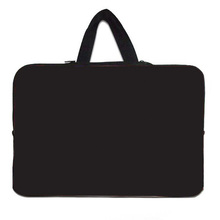 2015 New Brand Laptop Bag Neoprene Computer Cover Bags For Laptops 10 10.1 12 13 15 15.6 17 inch Tablet Case Notebook Black Bag(China (Mainland))