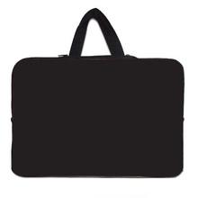 2015 New Brand Laptop Bag Neoprene Computer Cover Bags For Laptops 10 10.1 12 13 15 15.6 17 inch Tablet Case Notebook Black Bag