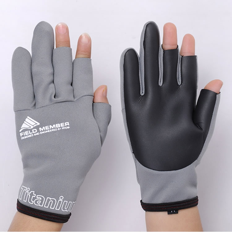 layering for winter fishing gloves