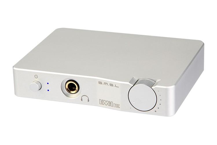 SMSL V2 HD USB audio decoder headphone amplifier ES9023 decode chip PCM 32bit/384KHZ Optical Analog RCA 6.35mm Outputs