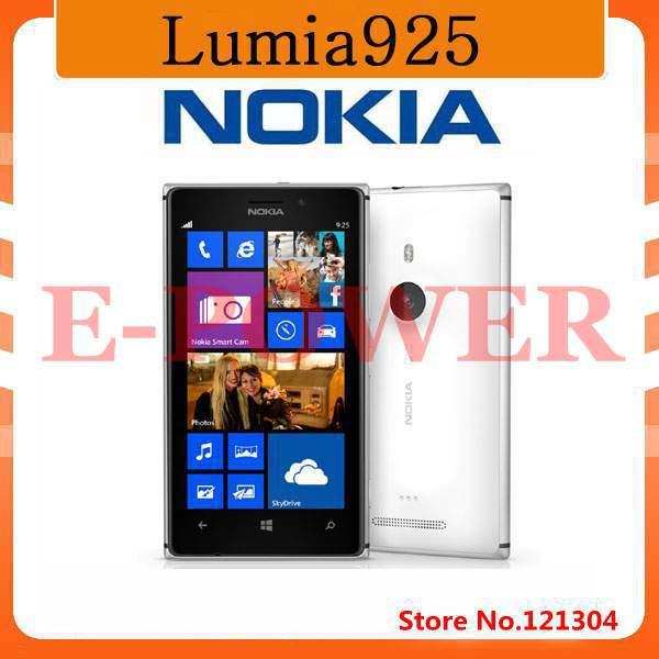 Free gift!Original Nokia Lumia 925 Dual Core 16GB 8.7MP Camera 4.5inch Touch Screen Microsoft Refurbished Windows 8 Smart Phone(China (Mainland))