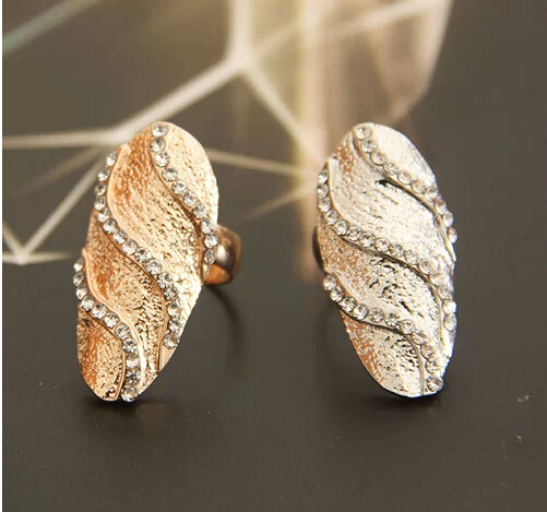 Sapphire Jewelry Rings For Women Fashion Hot Sale New Arrival Ancient Cool Gold/silver Finger Nail Design Ring Wholesale Pcs/lot(China (Mainland))