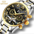 2017 Men s Watches De Luxe Top Brand KINYUED Sapphire Mechanical Fashion Casual Sport Watch Wristwatch