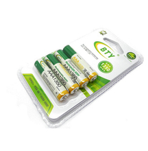 4x AAA 1350mAh 1.2 V Ni-MH rechargeable battery BTY cell for RC Toys Camera MP3
