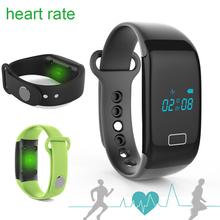 New Bluetooth 4.0 Bracelet et moniteur de fréquence cardiaque activité fitness Tracker Bracelet pour IOS et Android smartphone