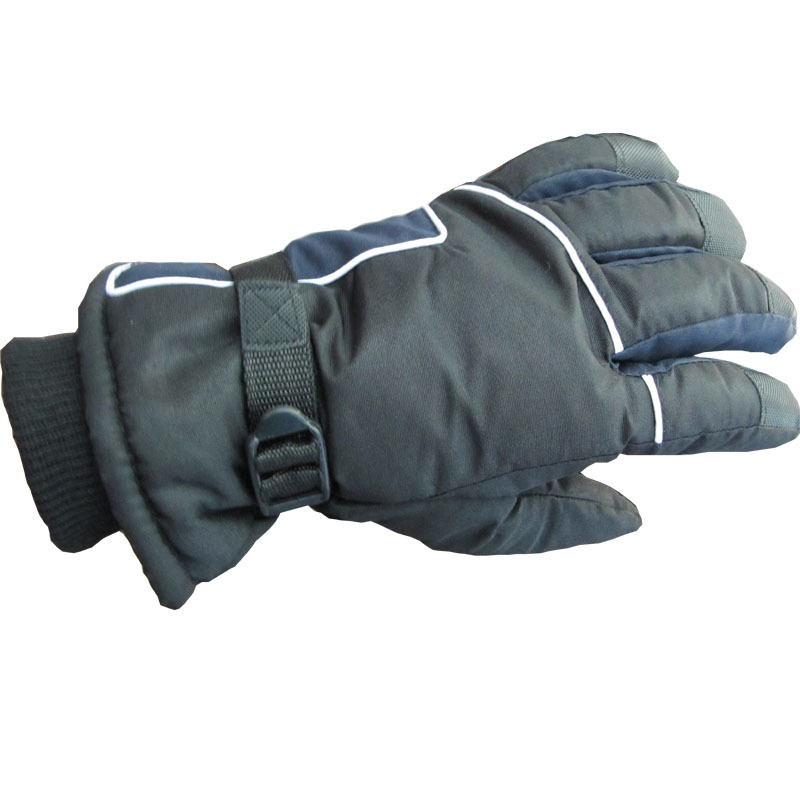 Winter thermal gloves male thickening windproof gloves warm fleece fashion outdoor ski gloves