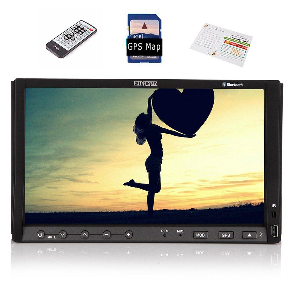 Car Stereo DVD Player Radio GPS navi video 7''BT USB RDS phonebook OSD Language change+ remote control +Free map card(China (Mainland))