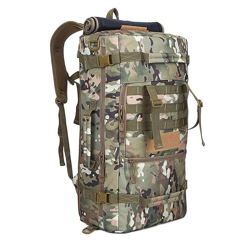 50L Daily Men Camping Hiking Packsack Rucksack Outdoor Trekking Shoulder Travel Backpacks Military Tactical Back pack <br><br>Aliexpress