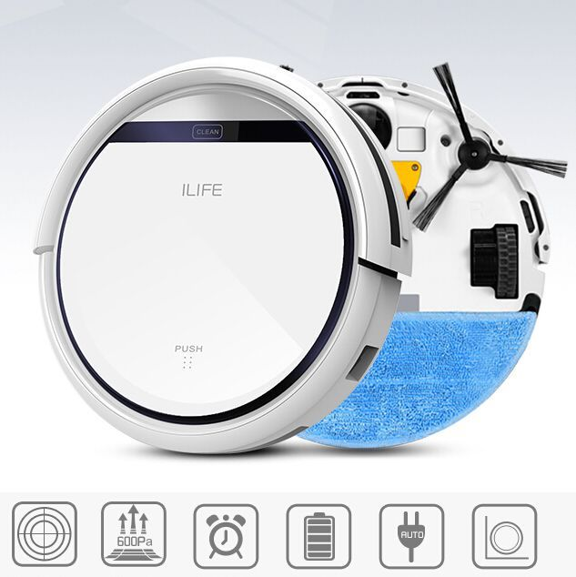 Wireless V3 Intelligent Robot Vacuum Cleaner for Home Slim HEPA Filter Cliff Sensor Remote control Self Charge ROBOT ASPIRADOR(China (Mainland))