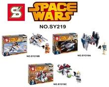 SY219 Building Blocks Super Heroes Avengers Star Wars Minifigures Space Wars Darth Vader Clone Trooper Yoda Bricks Mini Figures