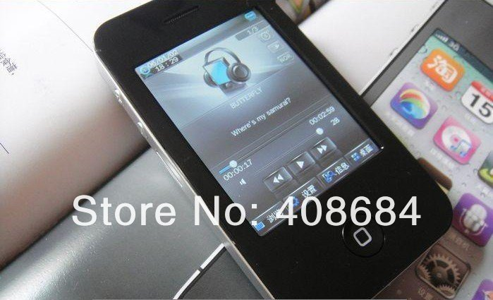 10pcs/lot 4GB 2.8 inch touch screen MP4 Player with digital camera MP4 Player(China (Mainland))