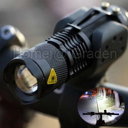 Гаджет  High Quality bike light CREE Q5 zoom flashlight mini torch 450ML LED Cycling Bike Bicycle Front Head Light With Mount None Спорт и развлечения