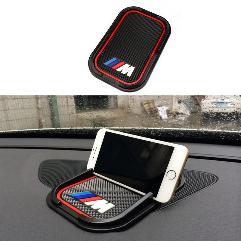 Car rubber phone mat GPS support Car Accessories For BMW M M3 M5 M6 E30 E34 F10 F15 F30 X1 X3 X5 X6 E36 E39 E46 E60 E90(China (Mainland))