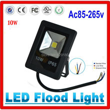 10w LED Flood Light Waterproof IP65 DC24v 110-240V Outdoor Gargen Led Spot light(China (Mainland))