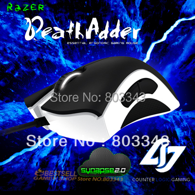Razer DeathAdder CLG Edition-Counter Logic Gaming, 6400DPI,4G Optical sensor, Without Retail BOX