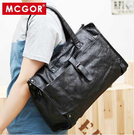 Здесь можно купить  Famous brand 100% real leather men luggage travel bags men