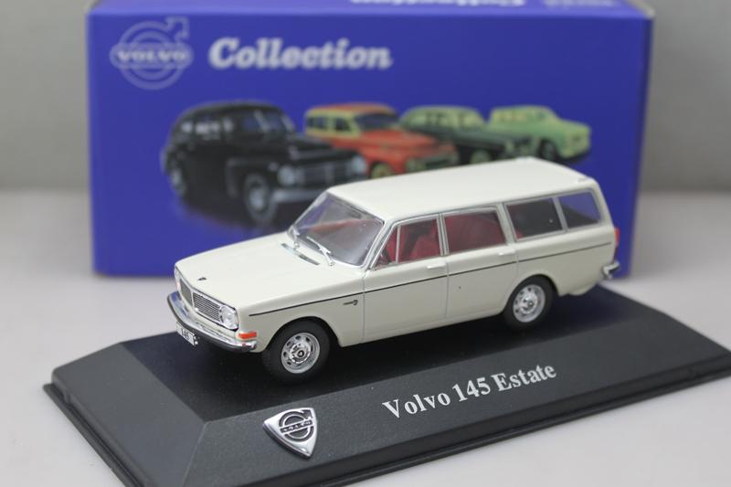 1/43 Atlas Volvo 145 ESTATE Diecast White(China (Mainland))