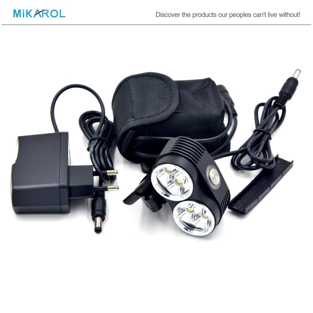 10800mAh battery 10000 Lumens 6 x CREE XM-L T6 LED Cycling Bike Bicycle Light Lamp HeadLight Headlamp & Real Light Bicycle LED(China (Mainland))
