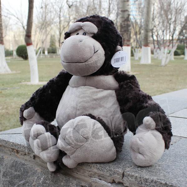 lovely new black orangutans Stuffed Animals soft toys plush doll 25 CM n169(China (Mainland))