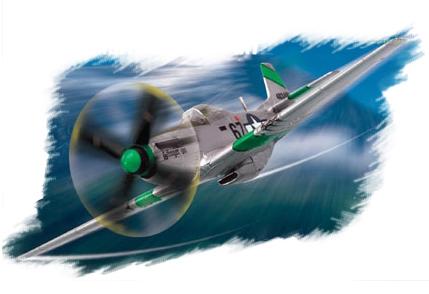 """HobbyBoss 1/72 80230 P-51D """"Mustang"""" IV"""