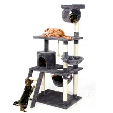 2016 Pet Cat Climbing Frame  Animal Puppy Multi-layer Cat Tree Cat Scratch PAWZ Road Cat Tree Board Condo Luxury Furniture(China (Mainland))
