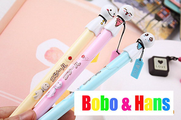 New cute cartoon sunny doll Gel Pen / Liquid Link pen / fashion Style / Wholesale(China (Mainland))