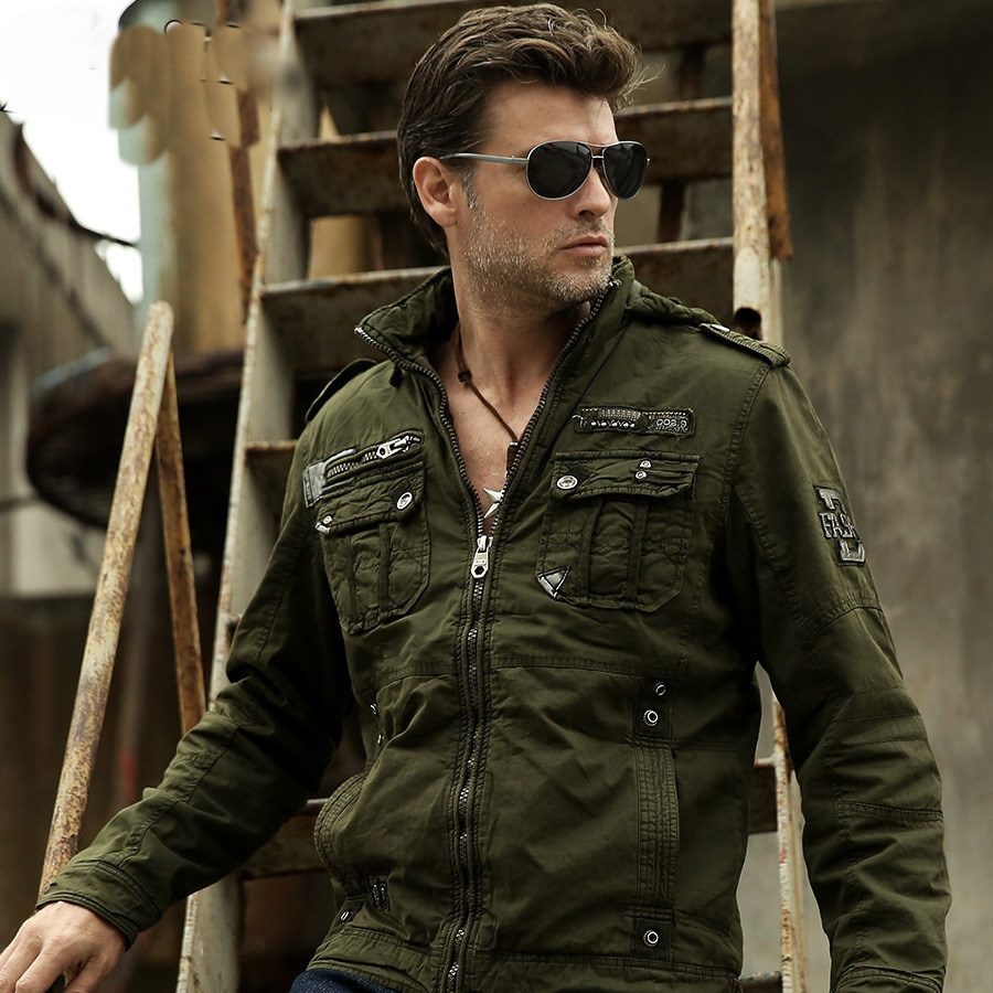 Military Style Winter Jackets Winter Jacket Men Military Air