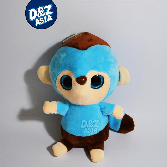 Cartoon plush monkey toys small gift doll Promotions Car Accessories wholesale bulk hot selling(China (Mainland))