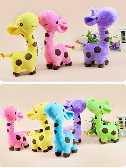 Super cute giraffe doll, Hot Doll Catcher  Plush Doll''EMS free shipping