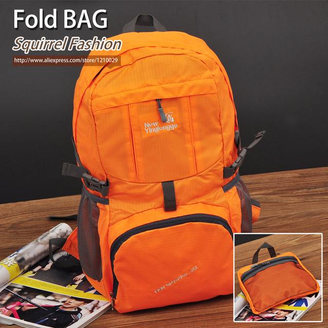 Белка мода нейлон спорт унисекс складные рюкзаки свободного покроя лоскутное портативный ...