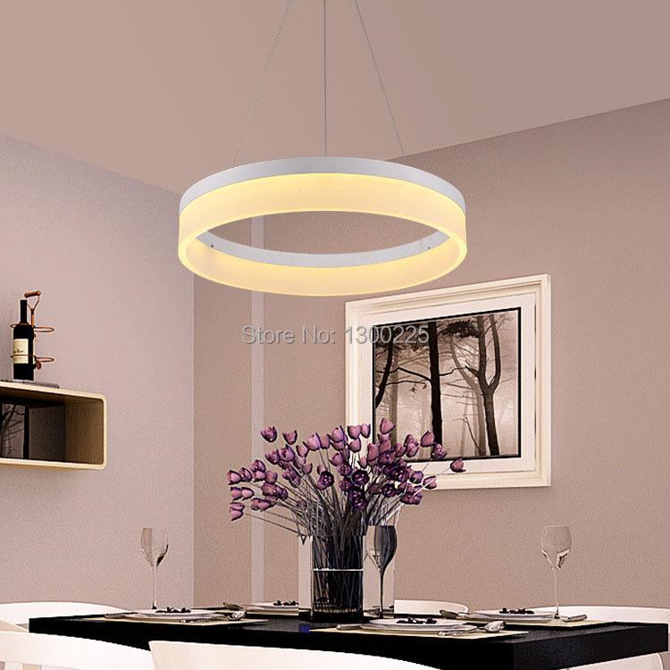 Buy minimalist style led pendant light for Living room hanging lights