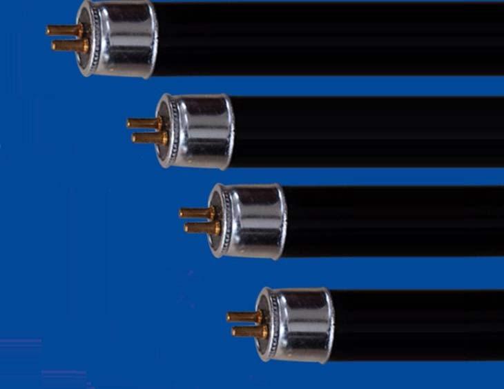 Free shipping 4W 6W 8W Energy Saving Black Light Straight Tube, CFL UV light, CFL BLB, CFL Purple Light
