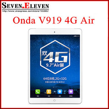 Original ONDA V919 3G/4G Air Octa Core 9.7'' 4G LTE Phone Call Android 4.4 Tablet PC MTK8752 ARM Cortex A53 Octa Core 2GB  GPS(China (Mainland))