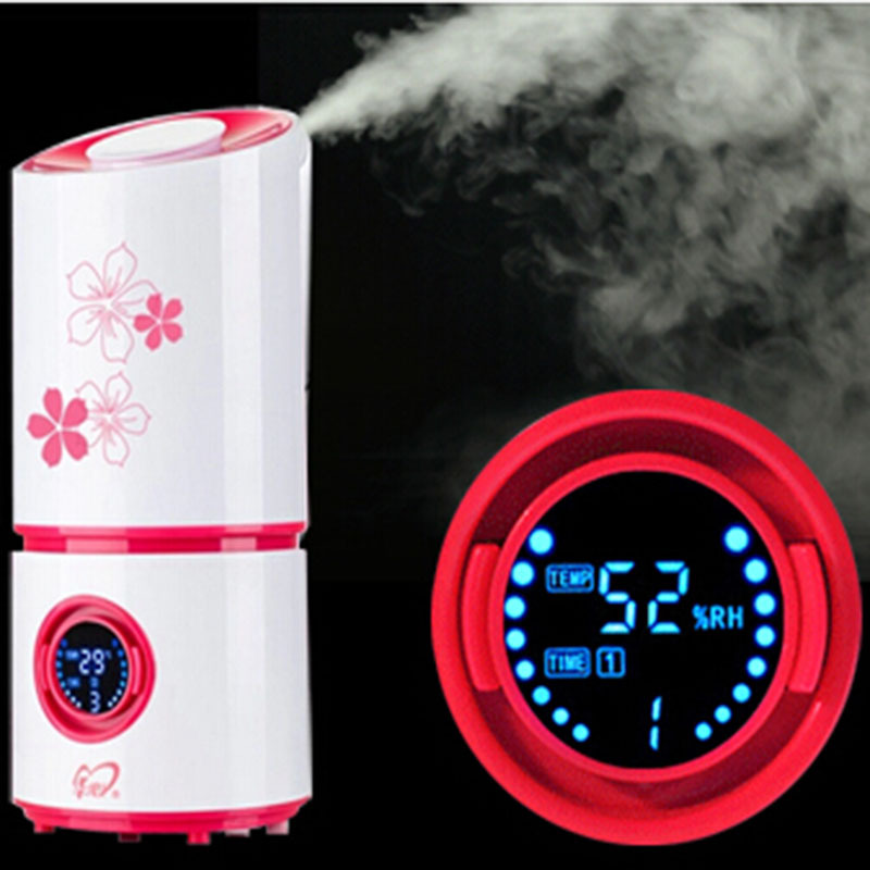 Ultrasonic Humidifier Aromatherapy Diffuser Car Styling Nebulizer Mute Home Air Sterilization Oxygen Bar Aroma Diffuser Fogger(China (Mainland))