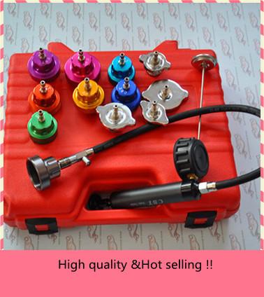 Car Radiator Water Pressure Tester auto radiator pressure tester car water tester Kit 14pcs<br><br>Aliexpress