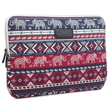 """Laptop Bag Sleeve Case 8"""",10"""",11"""",12"""",13"""",14"""",15 inch,Elephant Notebook Case,For ipad,Tablet,Bag For MacBook,Free Drop Shipping.(China (Mainland))"""