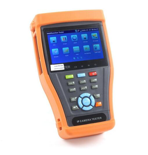 """IPC 3500 4.3"""" Touch Screen IP Camera Test Monitor PoE Test ..."""
