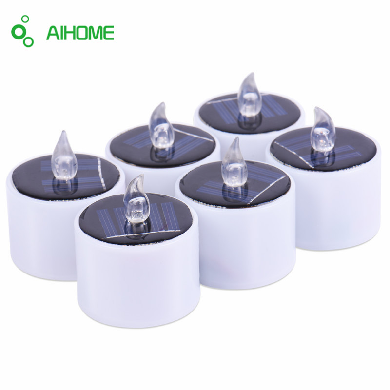 solar tea light candle promotion shop for promotional. Black Bedroom Furniture Sets. Home Design Ideas