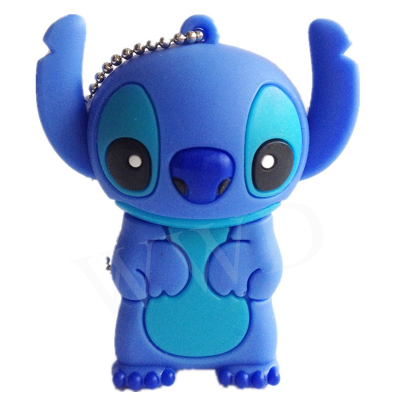 U disk mini pen drive stitch Bob gift pen drives 8gb 16gb 32gb 64gb pendrives dog cartoon usb flash drive pendrive(China (Mainland))