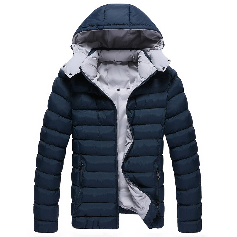 Autumn and winter fashion personality male slim with a hood wadded jacket outerwear 52368 p90Одежда и ак�е��уары<br><br><br>Aliexpress