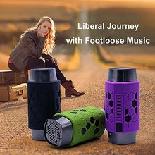 Multifunction Waterproof Grenade Bluetooth Speaker with LED Lamp,TF card play,hands-free Mic & Aux-in Sports Bike Stereo Speaker(China (Mainland))