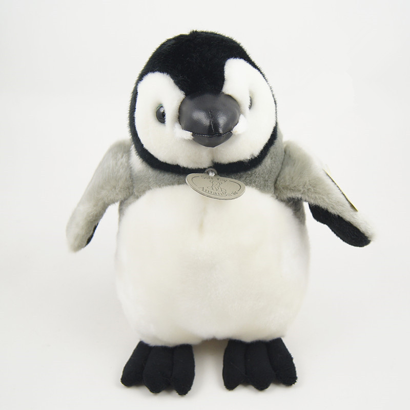 32cm High Quality Grey Penguin Plush Toys Kawaii Baby Toys Soft Stuffed Animals Toys For Kids Free Shipping  <br><br>Aliexpress