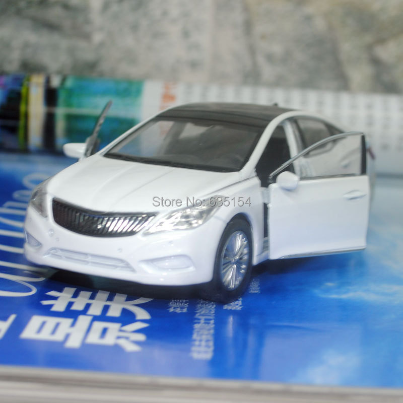 Free Shipping Wholesale 5pcs/pack Brand New WELLY 1/36 Scale Pull Back Car Toys Hyundai Sonata Diecast Metal Car Model Toy(China (Mainland))