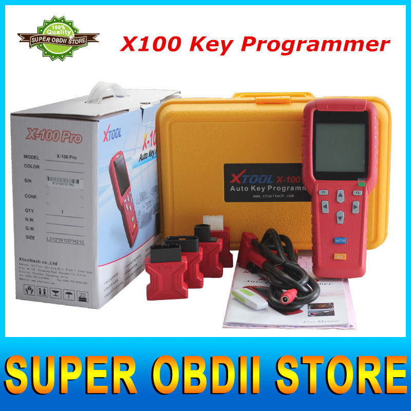 2015 Top Fashion Factory Price X100 Key Programmer X 100 Key Programmer Updated Version X-100 PRO Update On Official Website DHL(China (Mainland))