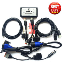 INLINE 6 Data Link Adapter Insite Heavy Duty Diagnostic Tool Scanner Full 8 cable Trcuk Diagnostic interface forCummins(China (Mainland))