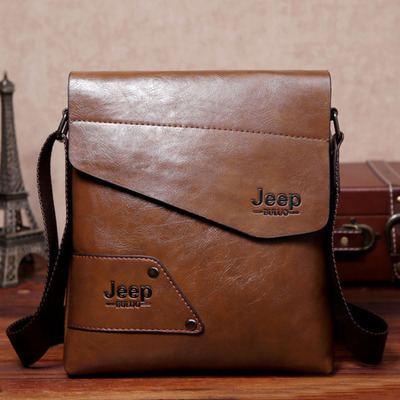 2015 New Men genuine leather bag famous brand men Messenger Bags Fashion Casual Business Shoulder for man,Men's Travel Bags 1805(China (Mainland))